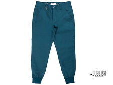 PUBLISH BRAND LEGACY JOGGER PANTS OCEAN NEW KITH RF SIZE: 28-36