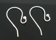 HOTSELL New Silver Plated Ear Wire Hooks Earring Findings Wholesale