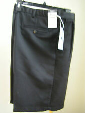 Haggar Cool18 Pleated Shorts 32 34 36 40 42 44 48 NEW Navy Black Khaki String