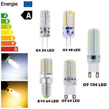 G4 G9 E14 3W 4W 5W 7W SMD 24 64 104 LED Corn Light Lamp Bulb Warm Cool Bombillas