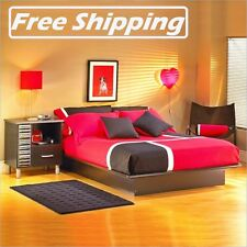 Full Size Queen Sizes Bed Frame Platform Furniture NEW FREE SHIPPING Boxless