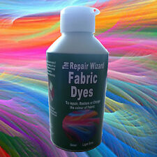 NEW ALL COLOURS CONCENTRATED FABRIC DYES ALL SIZES Repair Re-Colour