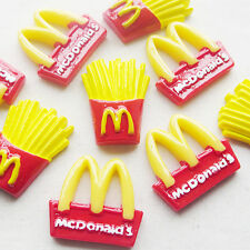 5/25 Sets Mc'Donalds Resin Flatback Buttons Scrapbooking Doll Baby Kid's Lots