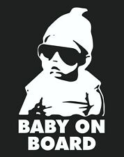 BABY ON BOARD HANGOVER Vinyl Car Decal Sticker