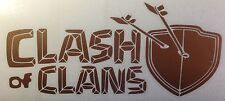 Clash of Clans Vinyl decal graphic sticker.... Show your support.