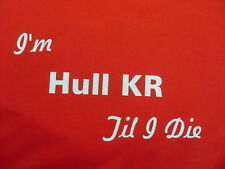Rugby League Hull KR T-Shirts & Sweat Shirts Inc 4XL & 5XL Personalised Gift