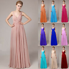 1 Wedding Bridesmaid Elegant Ball Cocktail Party Prom Gowns Formal Evening Dress