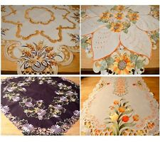 TABLECLOTH/ TABLE RUNNER FOR YOU HIGH QUALITY EMBROIDERED 4 DESIGNS AMAZING