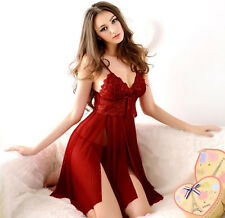GRCA Sexy Lingerie Womens Luxury Underwear Babydoll Sleepwear Nightwear G String