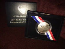 Baseball Hall of Fame Commemorative Uncirculated Half Dollar Coin 2014 US MINT