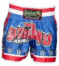Muay Thai Shorts Kick Boxing MMA Shorts Kick Trunks Boxing Dragon Do  Battle