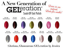 Jessica GELeration Soak Off Gel Polish 05oz/15ml  - Part 2- Pick Any Color