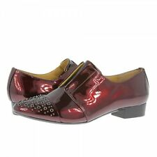 Clarks Womens ** BOOKIN BEACH ** SOFTWEAR ** RED WINE PATENT **  UK 7.5, 8