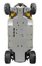 Ricochet Off-Road 11 PC Complete Skid Plate Set,  2014-2015 Can-Am Commander Max