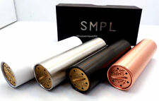 SMPL Mod 18650 Copper, Black, White, Stainless Steel High Quality Mechanical Mod
