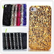 Luxury Marc By Marc Jacobs 3D Tinfoil Pattern Case Cover for iPhone 4/4s 5/5s 5c