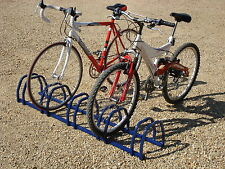 3 4 5 Bike Stands BLUE Pedal Cycle Rack Bicycle Stand Tidy Display Bikes Wall