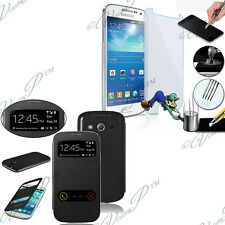 Etui Coque Film Verre Trempe View Cover Case Samsung Galaxy Express 2 SM-G3815