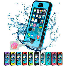 Waterproof Shockproof Dirt Snow Proof Durable Hard Case Cover for iPhone 5S 5