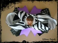 Justin Bieber Hair Bow With or W/O Headband *SHIPS FREE** USA SELLER*