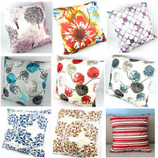"""1pc Plaid Leaves Floral Striped Square 50cm 20"""" Throw Pillow Case Cushion Cover"""