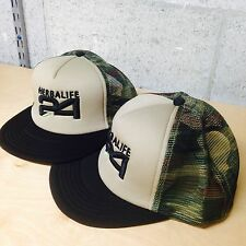 Flat Bill Snapback Cap, Military Camo with 3D Embroidered Herbalife 24 Logo