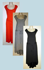 Womans Plus 28W  (3X) Draw String Sleeveless Hi -Lo Hem Dress New in Package