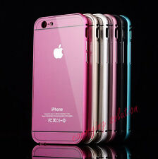 Aluminum Ultra-thin Mirror Metal Bumper Case Cover For Apple iPhone6 / 6 Plus