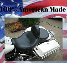Harley Davidson Driver Backrest Road King Easy ON/OFF Adjustable F/B