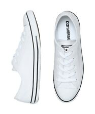 NEW Converse - Chuck Taylor All Star Dainty Leather Sneakers White | Footwear
