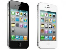 Apple iPhone 4 8GB Verizon PagePlus Straight Talk iOS Black and White Smartphone