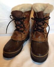 "Women's ""Alpine"" SOREL Boots Waterproof & Insulated. Made In Canada Size 9"