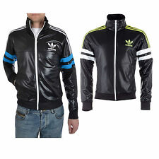 adidas shiny jacket