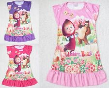 Vestito Bambina Casual - Girl dress - Masha e Orso - Masha and the Bear 00770082