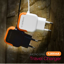 Genuine LG Smartphones Travel Adapter Wall Charger Mobile Devices Micro 5Pin