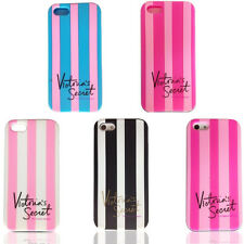 Victoria/'s Secret Case For Iphone 6 5 5S 5C 4S Rose Pink Silicone Strip Covers
