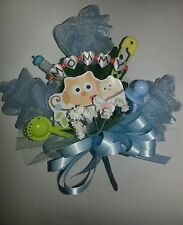 Baby shower owl MOMMY  corsage pink or blue boy or girl