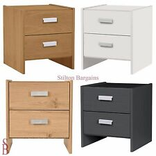 Capella Bedside Chest - 2 Drawer - BNIB - Table Cabinet