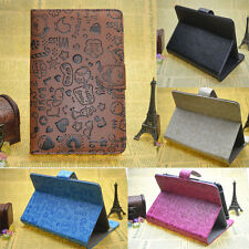 7 inch Universal Leather Folio Stand Case Cover For Android Tablet PC