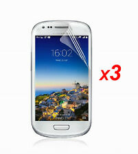 3x Anti-Glare Matte/ HD Clear Screen Protector Film for Samsung Galaxy S3 Mini