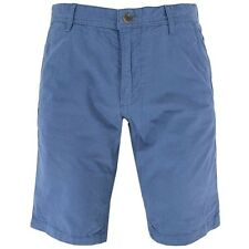 NEW HUGO BOSS khaki chino shorts dusky blue men sz  32 34 36 38 40 MSRP $85-95