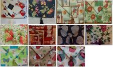 Fabric Table Runner Safari Cheetah Chef Fruit Apple Rooster Flower YOUR CHOICE