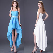 High-Low Dress Wedding Bridesmaid Homecoming Evening Prom Party Formal Dresses