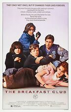 THE BREAKFAST CLUB Movie POSTER John Hughes Molly Ringwald