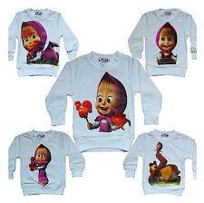 Masha e Orso - T-Shirt bambina - T-shirt Long Sleeves Masha and the Bear 0808001