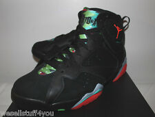 Air Jordan Retro 7 VII Marvin Martian Black Sneakers Men's Size 9 9.5 12 13 New