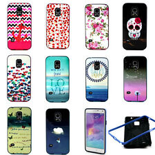 Shockproof Hybrid Combo 2 in 1 Cute Owl Case TPU Cover for Samsung Galaxy Phone