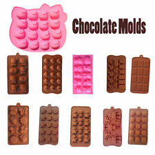 13 Shapes 3D DIY Silicone  Chocolate Cake Mould  Baking Mold cake pans bakeware
