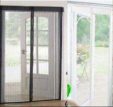 MAGIC MESH MAGNETICO PORTA Curtain FLY SCREEN Zanzara Insetto Repellente mani libere