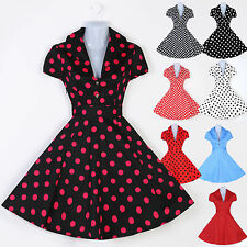 1950s ROCKABILLY DRESSES Vintage Swing Pin up Housewife Mother's Party TEA Dress